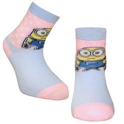 Ponožky Mimoni FC Dětské 30-35 (UK 12.5-3.5) dt