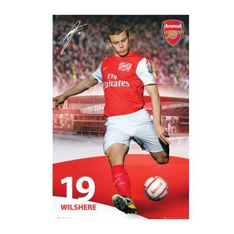 Plakát ARSENAL FC Wilshere 55