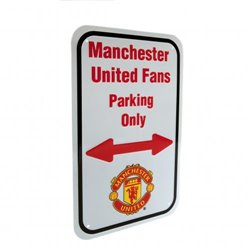Cedule Manchester United FC No Parking