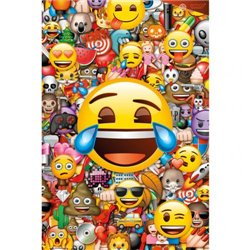 Plakát Emoji Collage 265