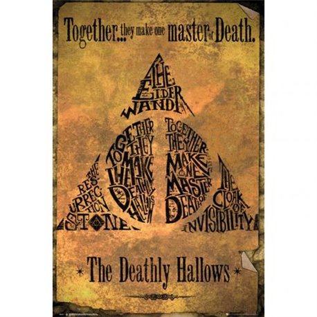 Plakát Harry Potter Deathly Hallows 226