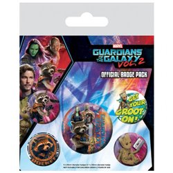 Odznaky Guardians Of The Galaxy II Sada 5ks