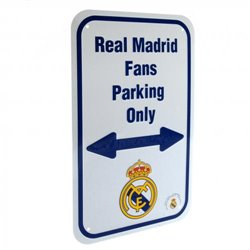 Cedule Real Madrid FC No Parking