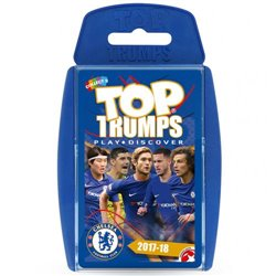 Karty Chelsea FC Top Trumps 2017-18