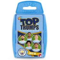 Karty Manchester City FC Top Trumps 2017-18