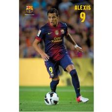 Plakát BARCELONA FC Alexis 59