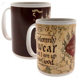 Harry Potter Heat Changing Mug Marauders Map