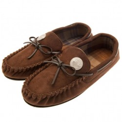 Manchester City F.C. Mens Moccasins 7/8 BR
