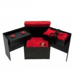 Sunderland A.F.C. Tie, Cufflink &amp,amp, Handkerchief Set