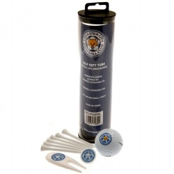 Leicester City F.C. Golf Gift Tube