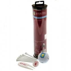 Aston Villa F.C. Golf Gift Tube