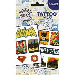 DC Comics Tattoo Pack