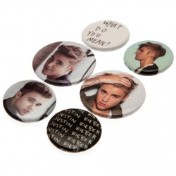Justin Bieber Button Badge Set