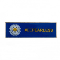 Leicester City F.C. Badge NOBeFearless