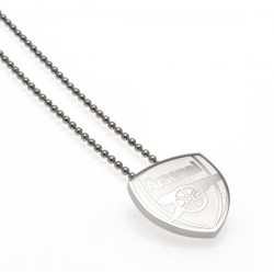 Arsenal F.C. Stainless Steel Pendant & Chain CR