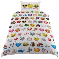 Emoji Single Duvet Set WT