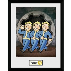 Fallout Picture Vault Boys 16 x 12