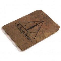Harry Potter Card Holder Deathly Hallows