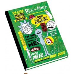 Rick And Morty A5 Diary 2019
