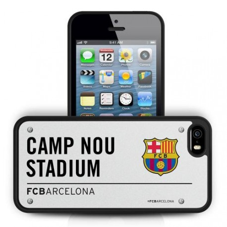 Kryt Na iPhone 5 / 5S BARCELONA FC 3D ss