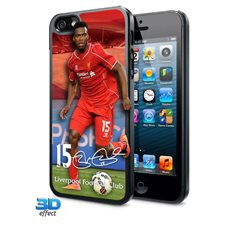 Kryt Na iPhone 5 / 5S LIVERPOOL FC 3D Sturridge